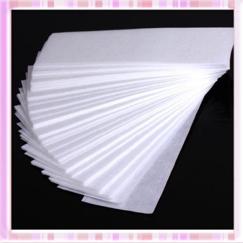 100 Pcs Professional Facial & Body Hair Removal Wax Strips Paper Depilatory Nonwoven Epilator B0221 (bestseller)
