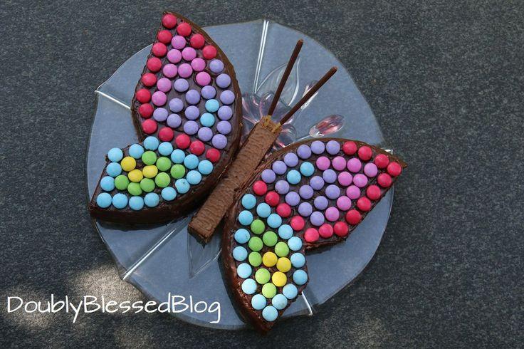 In dieser Serie stelle ich euch die coolsten Smarties-Geburtstagskuchen vor :-D Teil 2: Der Schmetterling!