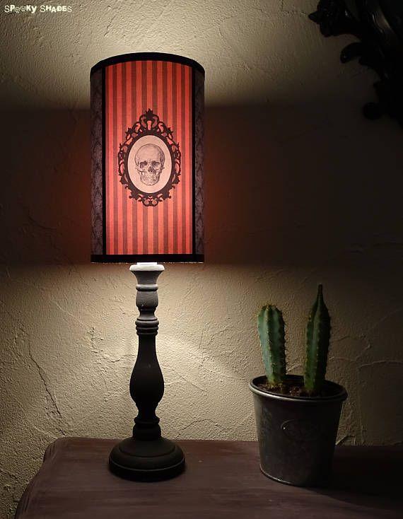 145 best spooky shades images on pinterest floor standing lamps gothic skull orange lamp shade lampshade goth decor by spooky shades spookyshades gothicdecor aloadofball Images