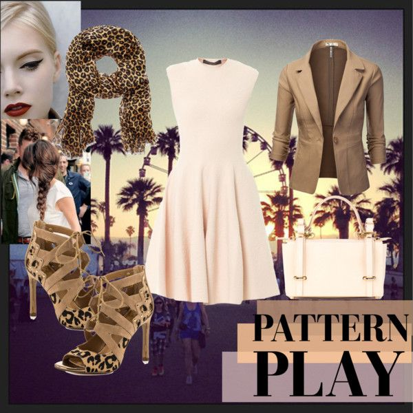 """Chic Leopard"" by hartantinora on Polyvore"