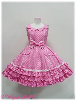 Angelic Pretty - Dreamland JSK - Dark Pink