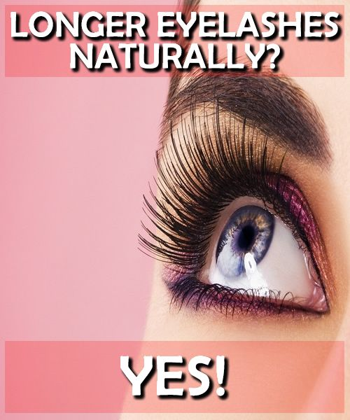 Nearly all women view long, thick eyelashes as an enhancement to their beauty. Here are the ways to accomplish it naturally #beauty #eyelashes