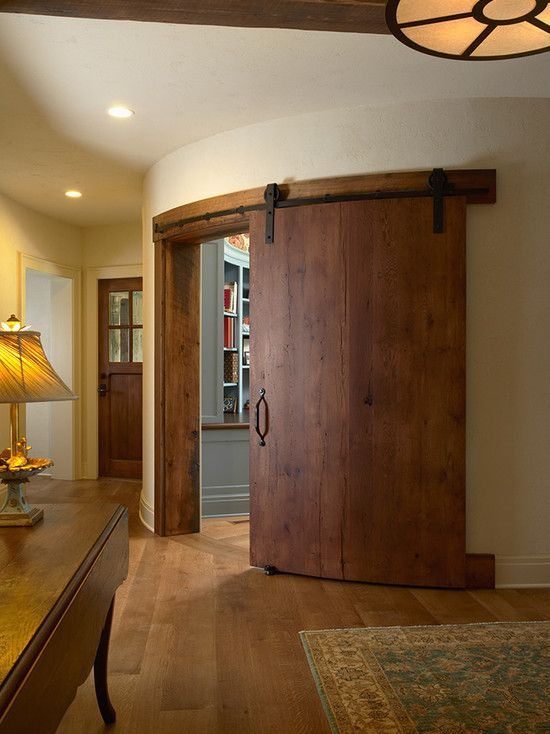 Curved Barn Style Door