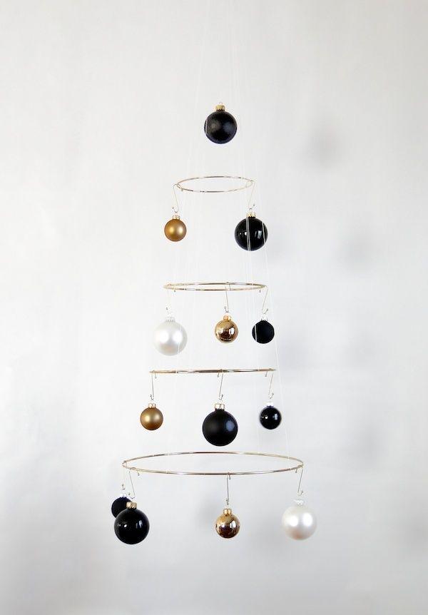 DIY Modern Winter Wedding Decoration