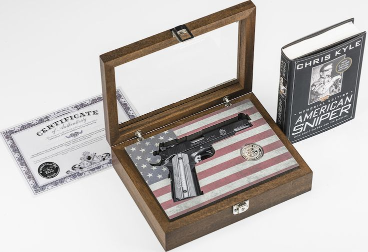 Springfield Armory Auction of First Chris Kyle TRP to End Live at NRA