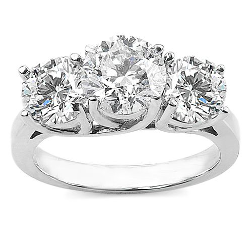 3 Carat Diamond Ring | Stone Diamond Ring with Choice of White or Yellow Gold!
