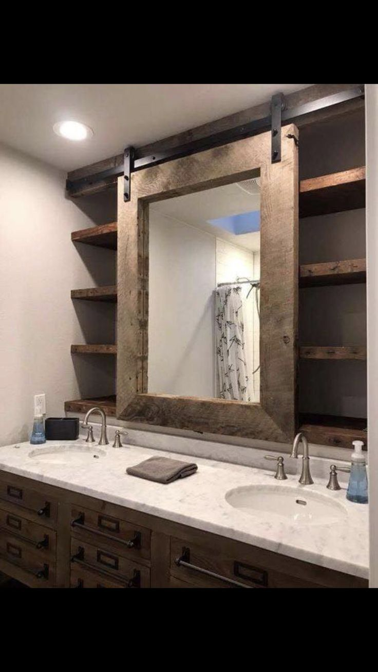 Cute idea, but I'd want to have two mirrors with…
