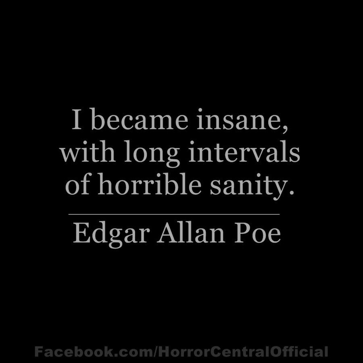 Edgar Allan Poe Quotes: I'll Settle For A State Of Functional Delusion Any Day!Its