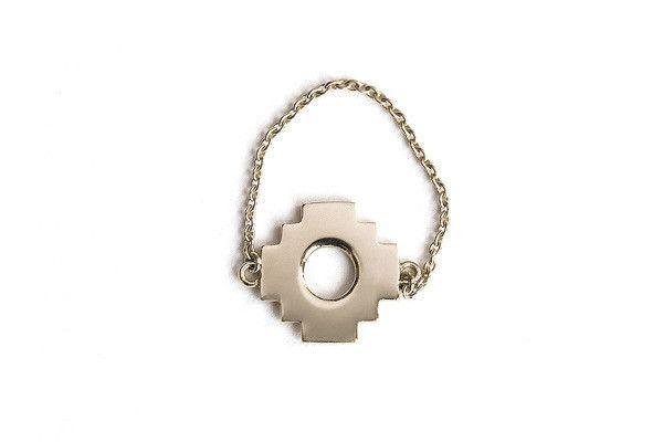 Chakana Cross Chain Ring