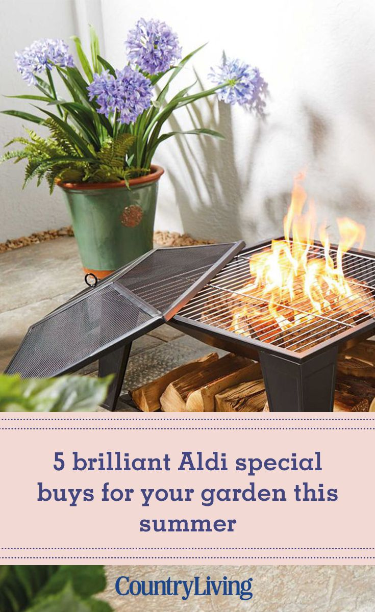 Gardenline Fire Basket Aldi Specials Fire Basket Buy Garden