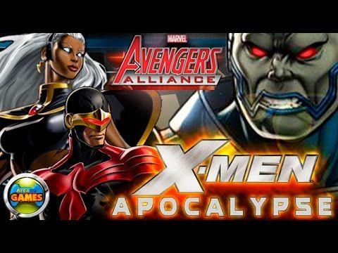X Men vs Apocalypse Marvel Avengers Alliance