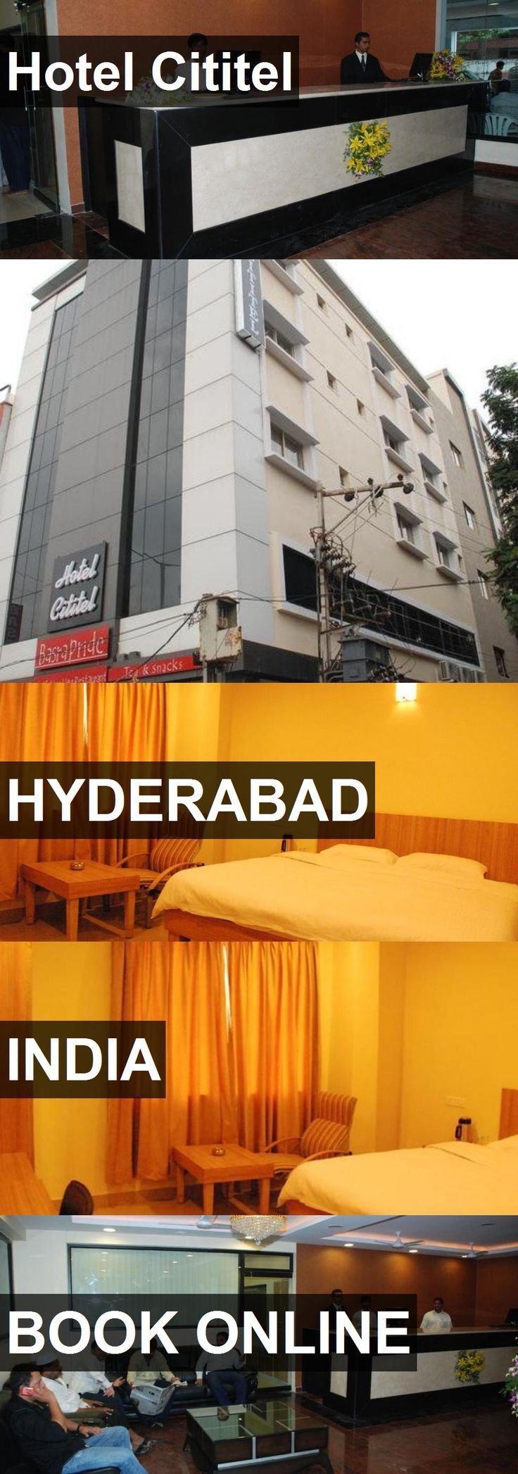 Hotel Cititel in Hyderabad, India. For more information, photos, reviews and best prices please follow the link. #India #Hyderabad #travel #vacation #hotel
