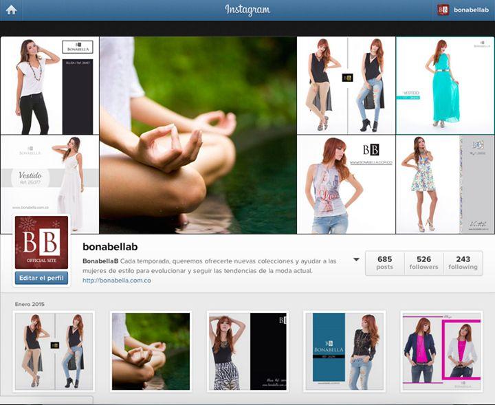 Síguenos en Instagram @bonabellab