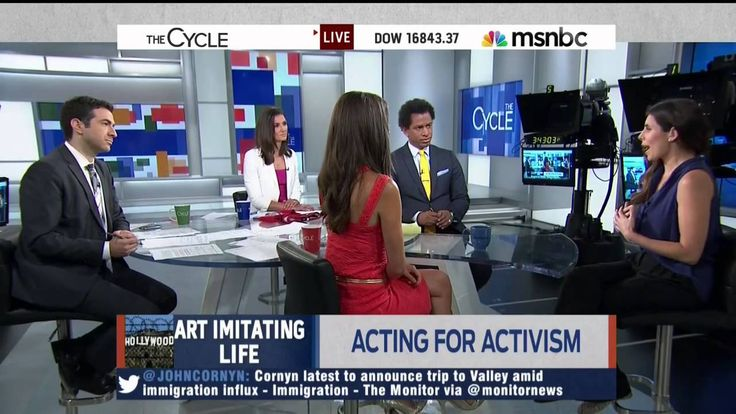 "Jamie Lynn Sigler on ""The Cycle"" (MSNBC)"
