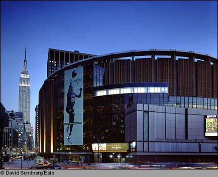 Madison Square Garden #NYC. Home of the New York Rangers