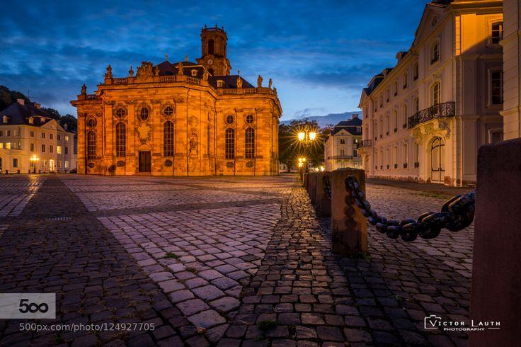 Ludwigskirche Saarbrücken by victorrafaellauth #fadighanemmd