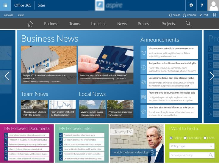 Laying Out a Productive User Interface in SharePoint 2013 | Pythagoras