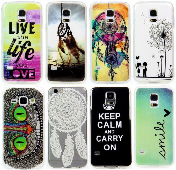 Samsung Galaxy Handy Schutz Hülle Etui Case Cover Motiv + Folie