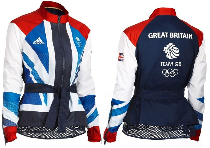 I want the men's 2012 gymnastics jacket that kind of look like this, So Sick.    Team GB Adidas Olympic Jacket Two Shot Stella McCartney