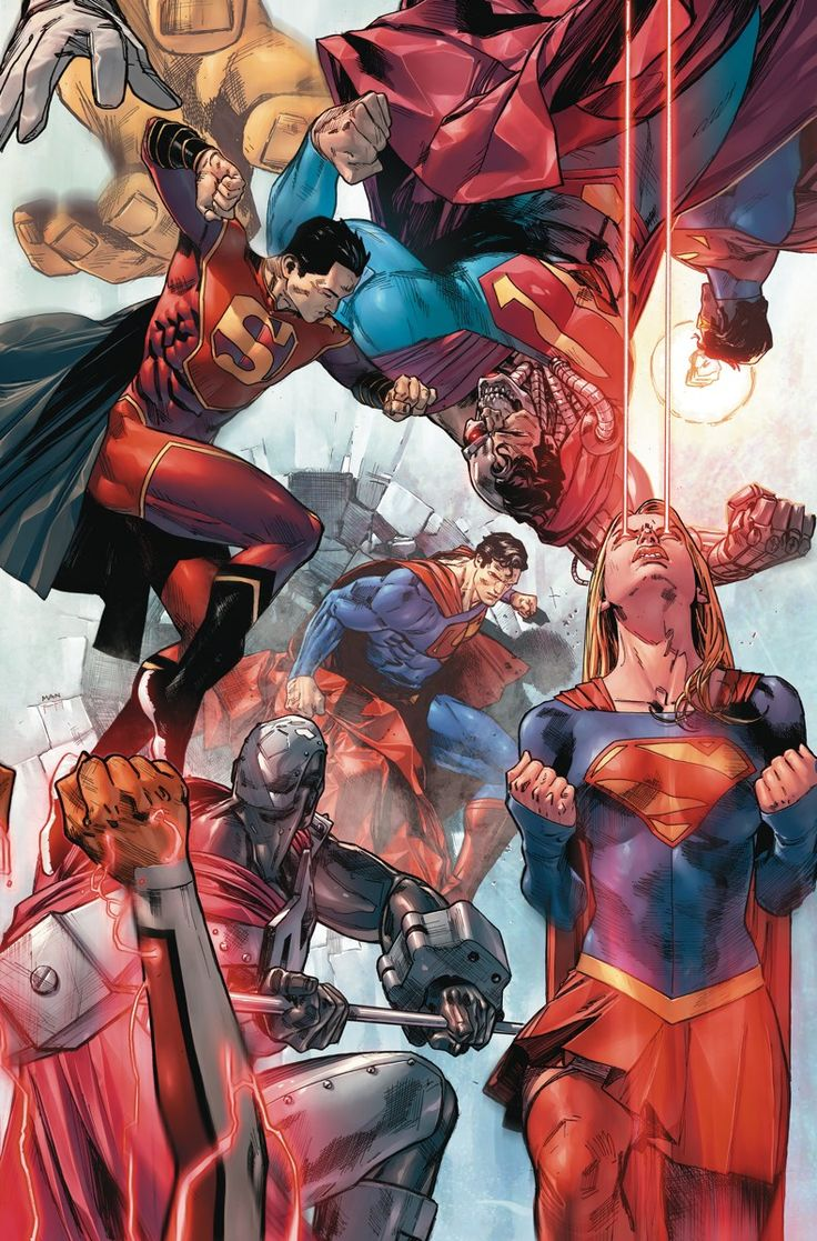 ACTION COMICS #983 - Written by DAN JURGENS // Art by VIKTOR BOGDANOVIC and JONATHAN GLAPION // Cover by CLAY MANN // Variant cover by GARY FRANK
