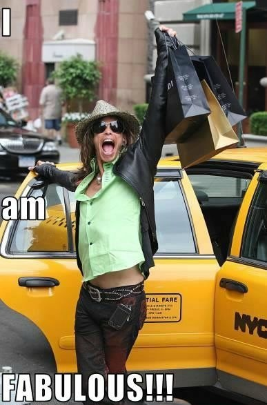 Yes, you are, colorful Steven Tyler!