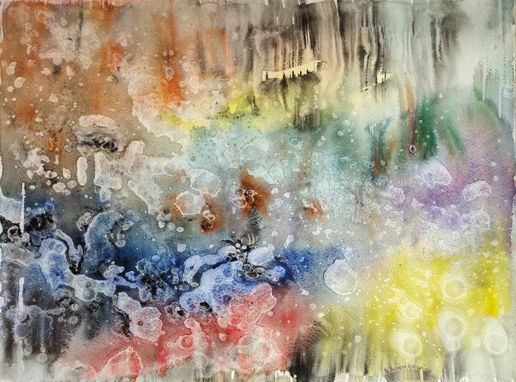 At daybreak, Bernadeta Sudnikowicz, akwarelana papierze 300g, 34x 46 cm 2016