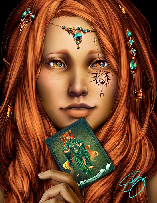 A Gypsy represented by the second card of the Major Arcana; The Magician ~ by Hunter Bonyun