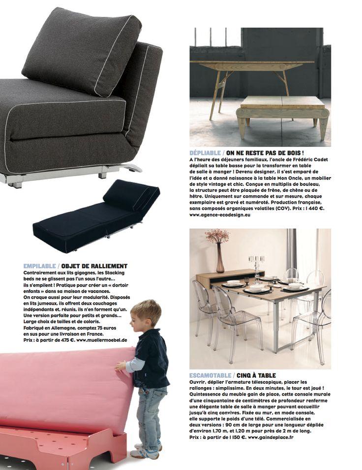 Gain de place dans le Figaro Magazine