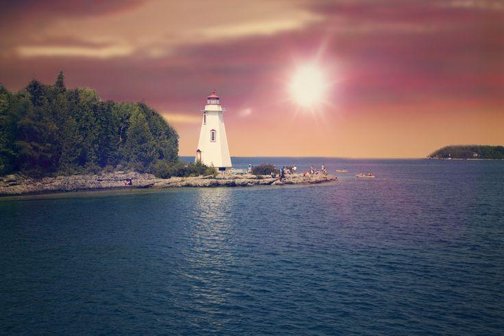 Lighthouse Tobermory Ontario