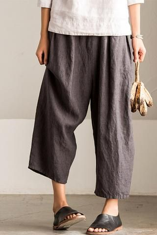1000  ideas about Linen Pants Women on Pinterest | Beach wear ...