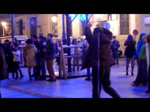 Tramps dancing on New Years Eve