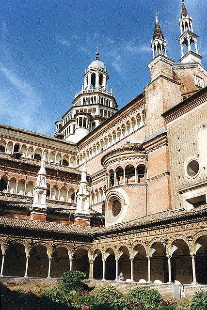 Pavia (Cloister), Pavia, province of Pavia, Lombardy region Italy