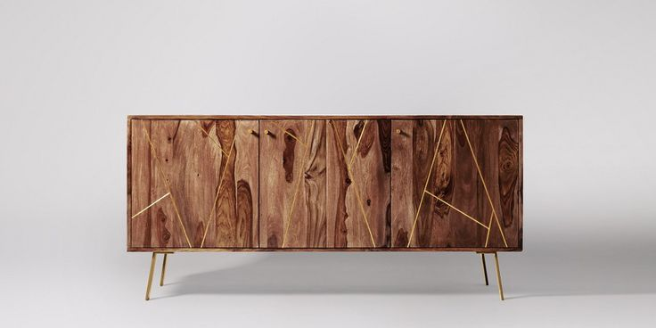 Herning Rosewood & Brass Sideboard | Swoon Editions
