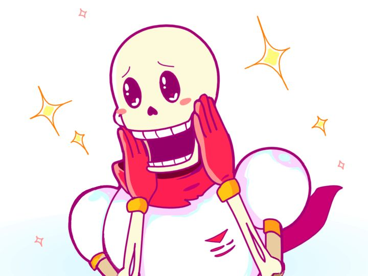 I don't know why he made this face but it is absolutely adorable. Sans probably did something to make this happen. ;)