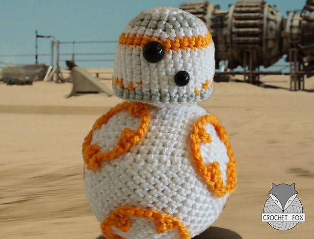 Free Star Wars Bb 8 Crochet Pattern : BB8 Crochet Pattern Star Wars - Crochet Patterns ...