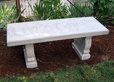 How To Make A Concrete Bench For The Yard. #gardeningtips  #homeimprovementtips #howto