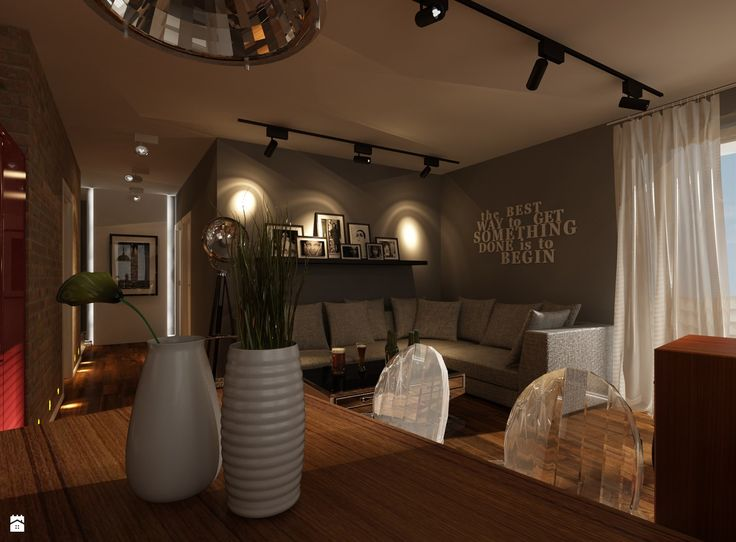 Projekt Mieszkania W Krakowie   Salon   Styl Nowoczesny   Ciochoń   Studio