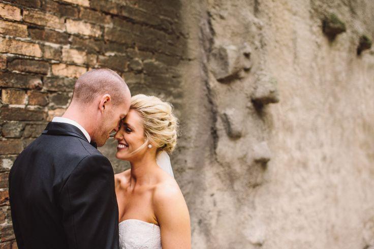 Great wedding photo shoot in Melbourne's laneway - Park Hyatt Melbourne Wedding