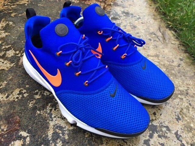 Nike Presto Fly ® Size 10 UK EU 45 Herren Trainer Racer Blue