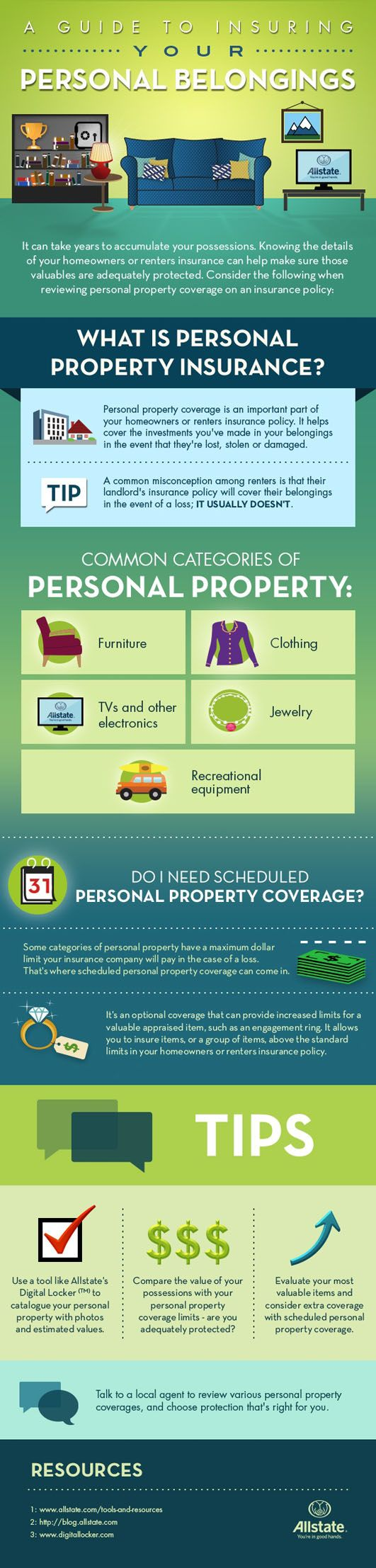 Protecting your personal belongings is important, this infographic can help.