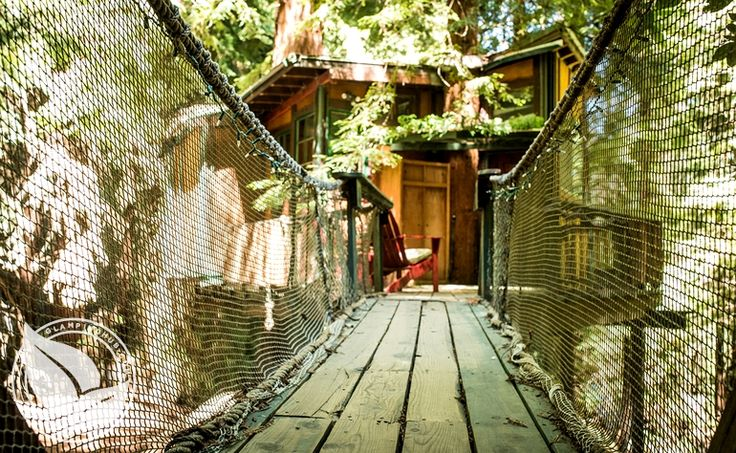 Glamping near Santa Cruz, Corralitos CA | Glamping Monterey Bay Tree house $125 a night
