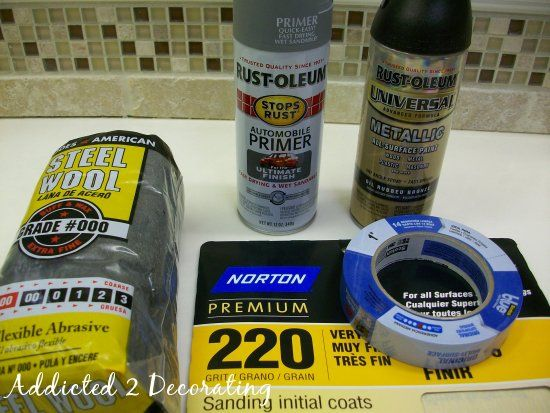 25 Best Ideas About Spray Painting Metal On Pinterest