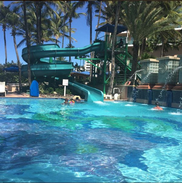 Check out this slide at san juan marriott and stellaris for Puerto rico vacation ideas