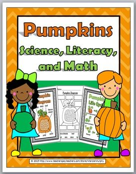 Pumpkins Science, Literacy, and Math