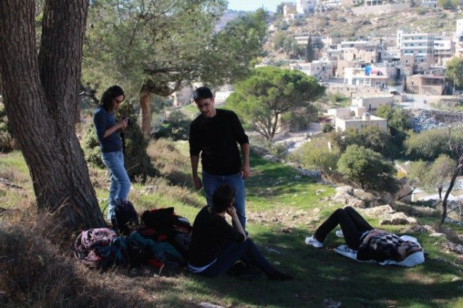 O segundo tour de 2015 na Palestina