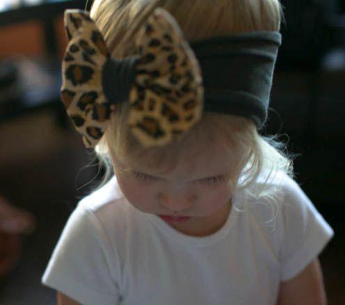 Create your own bow-band // bow band/ big bow headband/ baby bow headband/ toddler bow headband/ headwrap/ turban / leopard headband/ https://www.etsy.com/shop/whimswear