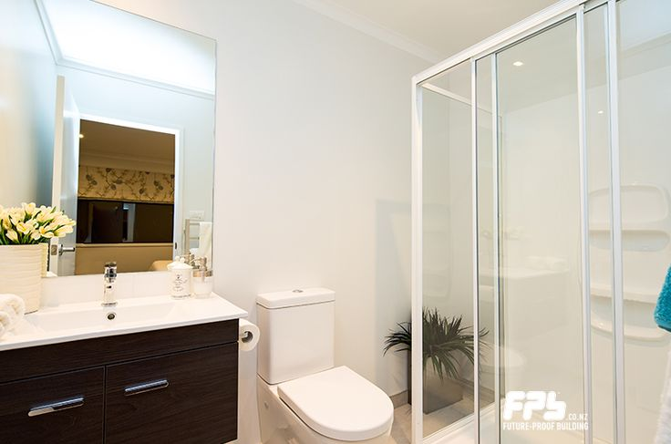 GIB AQUALINE® wet area linings protect walls and ceilings in bathrooms, ensuites, laundries and kitchens. (www.gib.co.nz)