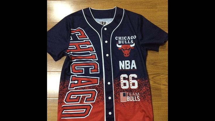 Chicago Bulls Basketball Jersey all over sublimation