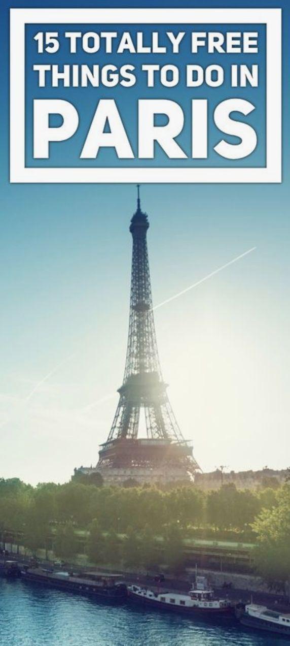 free things paris