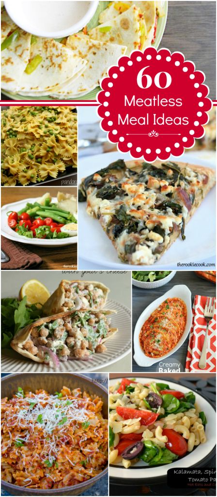 60 Meatless Meal Ideas | Mom's Test Kitchen
